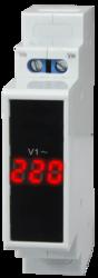 Вольтметр однофазный на DIN-рейку Omix D1-V1-1