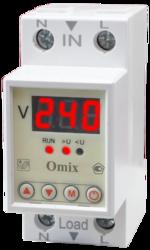 Вольтметр однофазный на DIN-рейку Omix D2-V1-1-K6