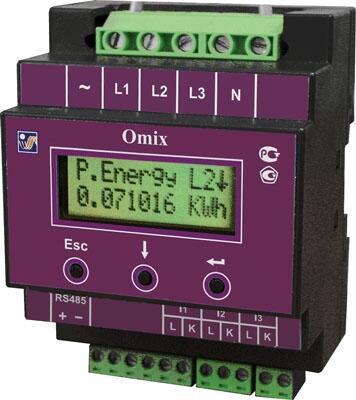 Анализатор качества электроэнергии Omix