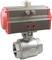 Кран шаровой КПР-2 с пневмоприводом