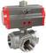 Кран шаровой КПР-Т3 с пневмоприводом