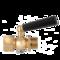 С фторопластовой прокладкой и натяжной гайкой Кран трехходовой с фторопластовой прокладкой и натяжной гайкой