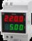 Вольтамперметр однофазный на DIN-рейку Omix D3-AV2-1