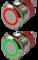 Кнопка металлическая 22 мм антивандальная с подсветкой AR-SD16-BL22001.FR