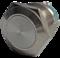 Кнопка металлическая 19 мм антивандальная AR-SD16.BM19100.F