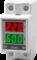 Вольтамперметр однофазный на DIN-рейку Omix D2-AV2-1-N2