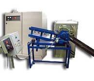 Установка индукционная нагревательная с роторным механизмом подачи заготовок