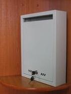 Почтовый ящик ШПИ-1 серый (RAL 7035)