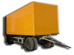 Грузовые прицепы-фургоны