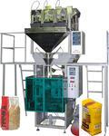 Вертикальный упаковочный автомат фасовки сыпучих в пакет весовой дозатор  АУФ-B1-3