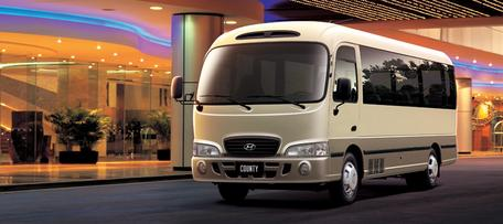 Автобусы   Hyundai County
