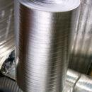 Непрошитый вспененный полиэтилен , дублированный алюминиевой  фольгой с одной стороны