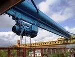 Кран балка мостовой кран опорный гп. 10 тн. 16,5м. Красноярск.