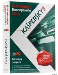 Kaspersky Anti-Virus 2012 Russian Edition. 2-Desktop 1 year Base DVD Box.