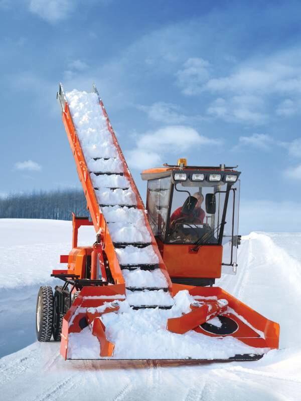 Снегопогрузчик лаповый ко-206М-00, Евро 0