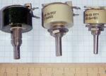 Резисторы переменные подстроечные проволочные.
