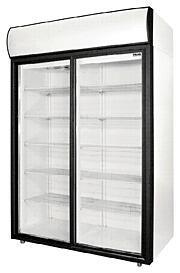 Холодильные шкафы со стеклянными дверьми POLAIR Standard