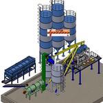 Автоматический завод по производству сухих строительных смесей  СБ