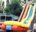 Горка Каскад с бассейном