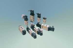 Распределитель воздуха П-Р4Ф.2 с механическим и ручным управлением