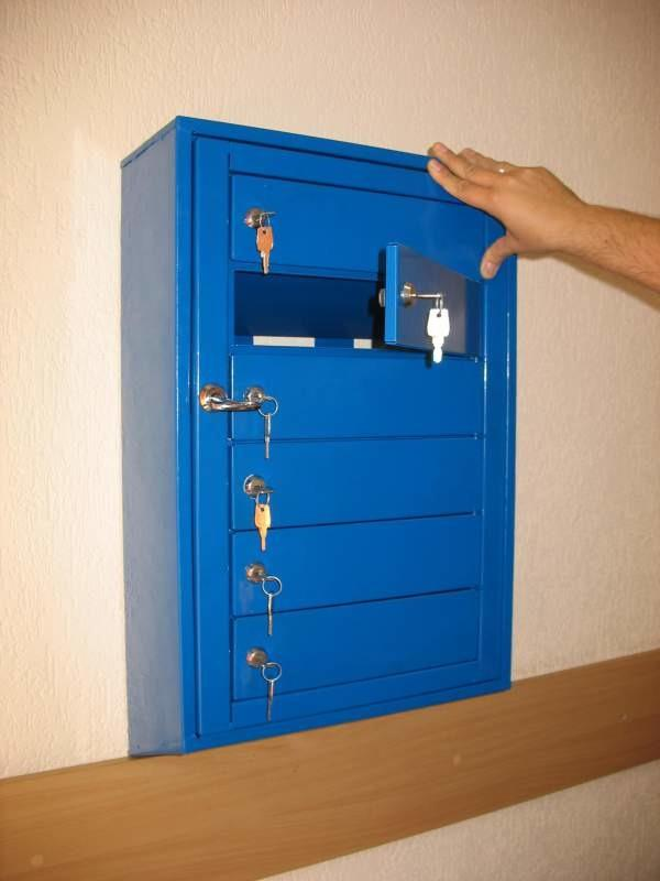 Шкаф почтовый многосекционный