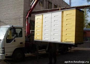 Транспортировочный контейнер для ульев