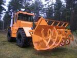 Снегоочиститель фрезерно-роторный К-705-Р-СФР