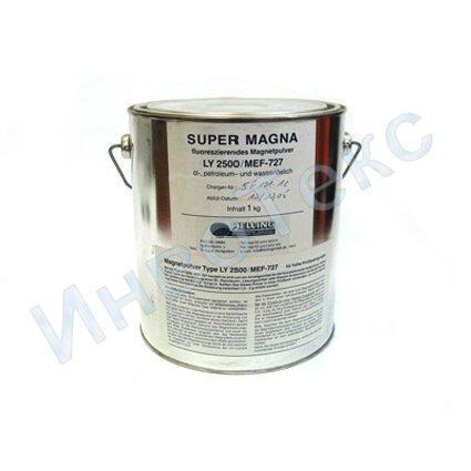 Порошок магнитный флуоресцентный Super Magna LY 2500