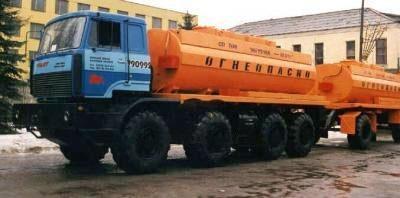 Автотопливозаправщик АТЗ-20-237