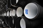 Полиэтиленовые трубы ПНД для безнапорной канализации - Корсис