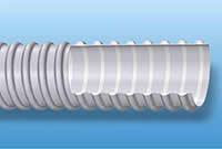 Воздуховод из ПВХ с гладкой внутренней стенкой, армированный спиралью ПВХ d=50 мм