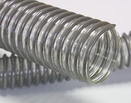 Воздуховод из полиуретана с гладкой внутренней стенкой, армированный спиралью ПВХ d=100 мм