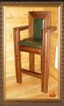 Стилизованный высокий стул