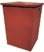 Контейнер мусорный ТБО 0,75м3 без крышки/с крышкой