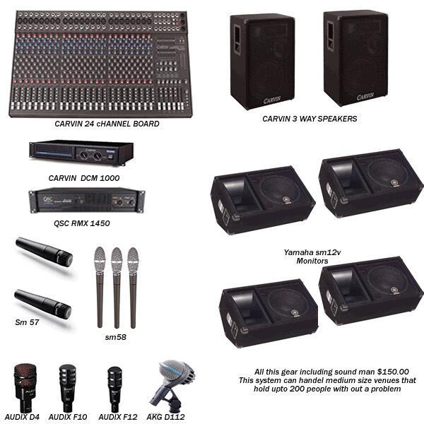 Оборудование звуковое