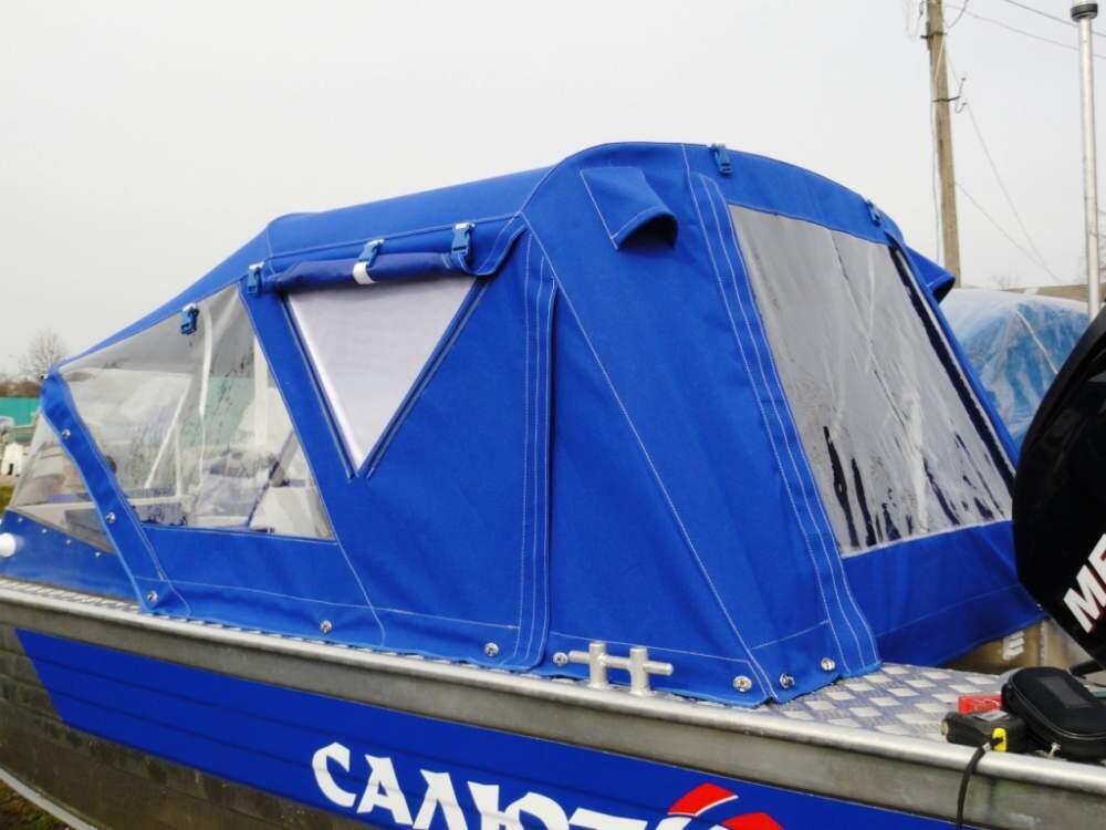 Тюнинг лодки салют 480 своими руками 85
