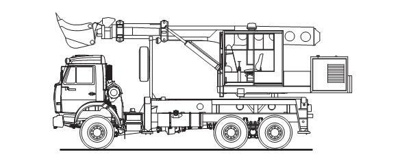 Экскаватор-планировщик 6986