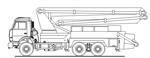 Автобетононасос 58153А (АБН-32