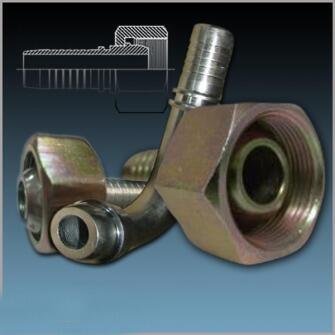 Фитинг для рукавов высокого давления DK-L (Ш) М14Х1,5 DN06