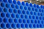 Труба ПНД синяя пищевая диаметры 160мм