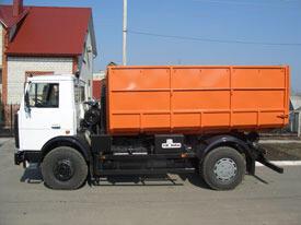 Мусоровоз контейнерный КО-452