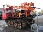 Буровой установка ГБУ-5 на гусеничном шасси ТЛТ-100А