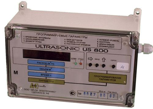 Расходомеры-счетчики жидкостей US800