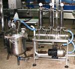 Модуль фильтрации жидких лекарственных средств с накопительно-раздаточной емкостью