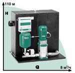 Насосы мобильные высокого давления. Насосы и установки повышения давления Wilo Economy-CO/T-1 MVI/ER