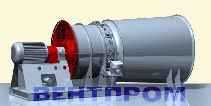 Вентилятор осевой ВОМ-18