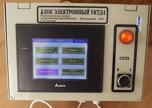 Устройство контроля температуры и давления в автоклаве