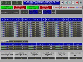 Система автоматизированного управления процессом нагрева пресс-формы термопластавтомата