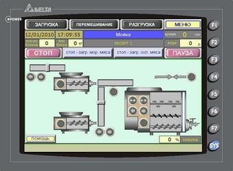 Система  автоматизированного управления процессом приготовления фарша