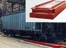 Весы вагонные электронные (тензометрические)